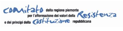 Comitato della Regione Piemonte per l'affermazione dei valori della Resistenza e dei principi della Costituzione repubblicana
